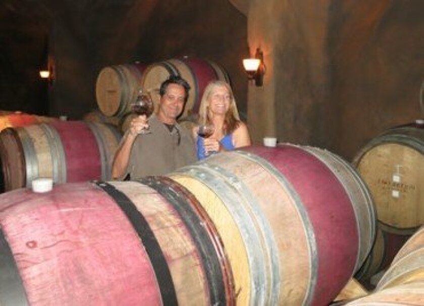 Wine Factor owners Pat and Bev hurley Courtesy