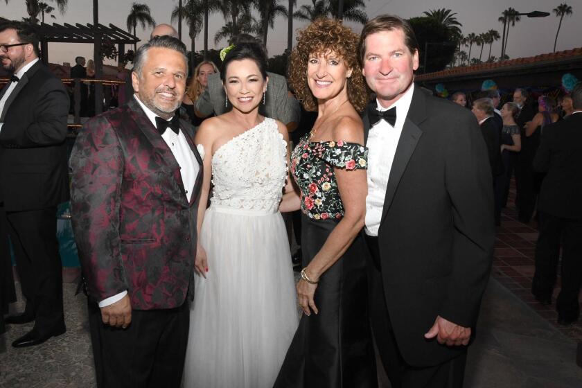 Raul and Lisa Albanez, Mary Powell, Stephen Crandall