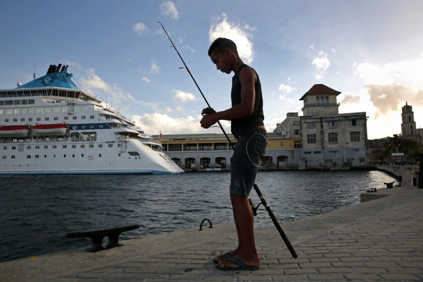 Cruise lines are interested in sailing to Havana amid the recent thaw in U.S.-Cuba relations, but there are hurdles to overcome first.