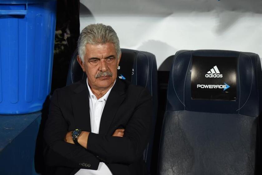 En la imagen, el entrenador brasileño Ricardo Ferretti de Tigres UANL. EFE/Archivo