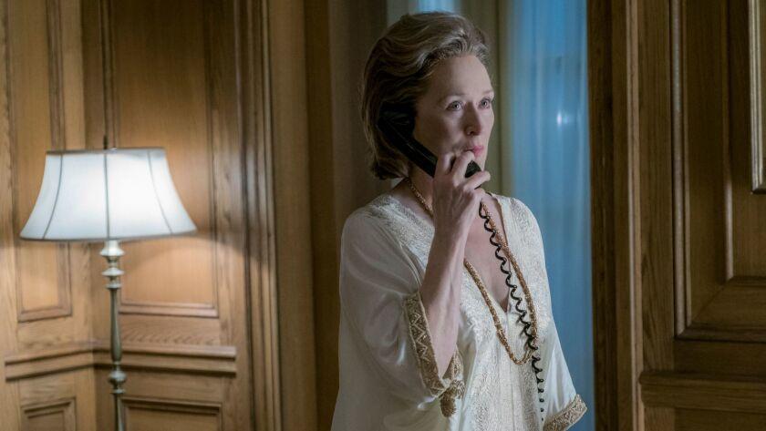 ******DO NOT USE FOR KEY SCENES ENVELOPE STORY FEB. 15th ISSUE 2018 **** Meryl Streep as 'Katharine