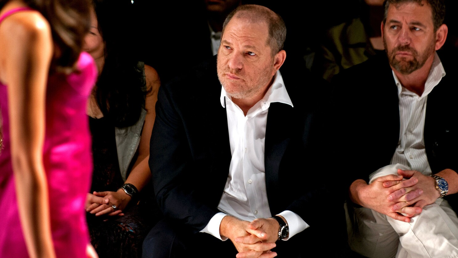 How Harvey Weinstein Used His Fashion Business As A Pipeline To Models Los Angeles Times
