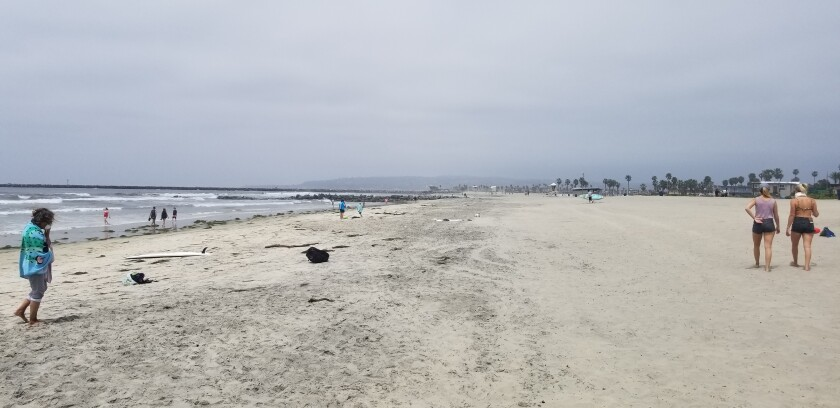 Beaches in Ocean Beach got high marks on Heal the Bay's 30th annual Beach Report Card.