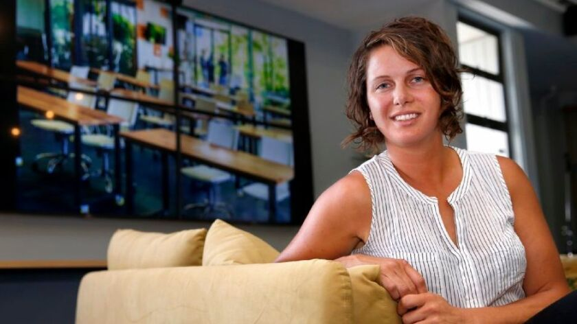Casey Fields, who owns The Point, is a former event planner with a love for the outdoors, including snowboarding and surfing.