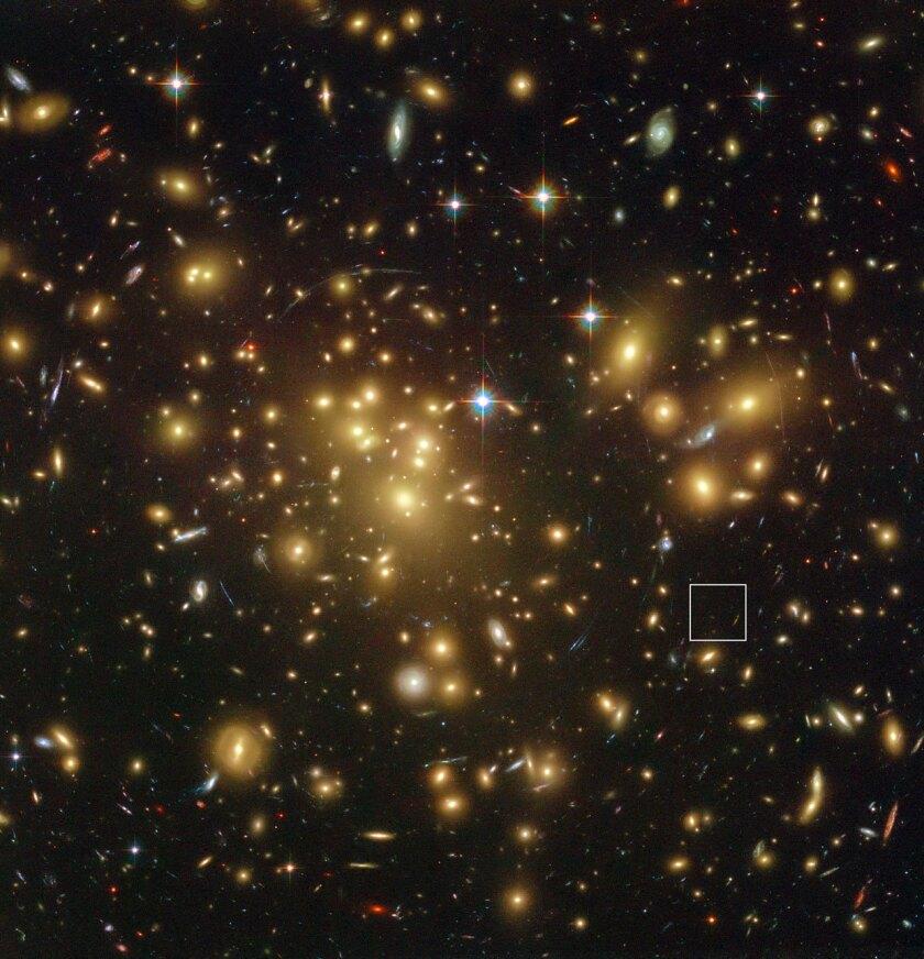 A1689-zD1 galaxy