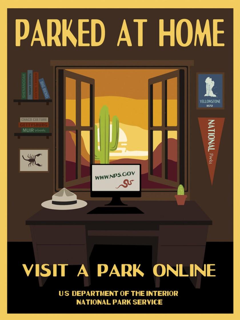 National Park Service poster