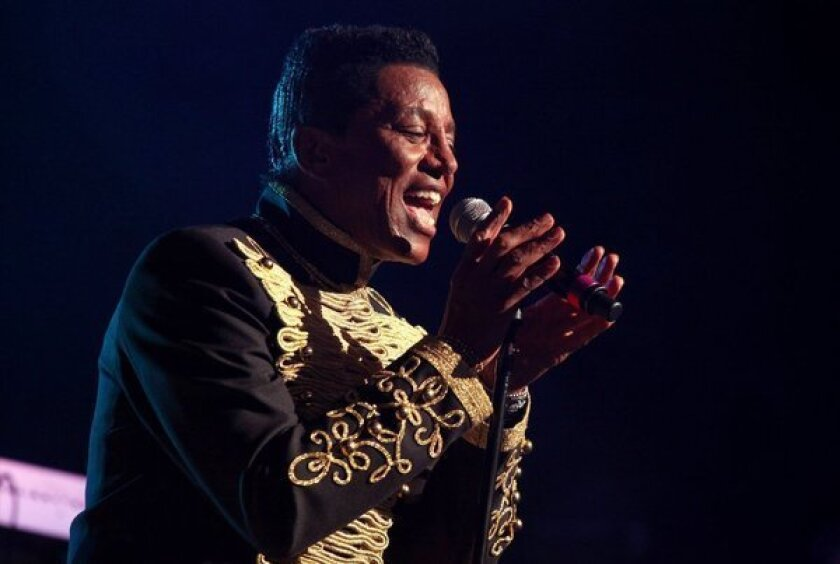 Jermaine Jackson performs with The Jacksons on their Unity Tour 2012.