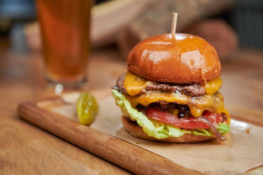 Cheeseburger at WR Kitchen & Bar