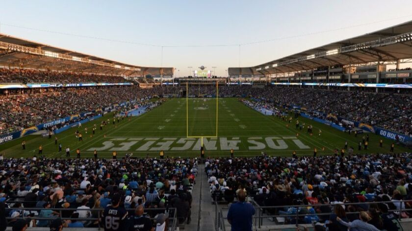 Attendance for Chargers preseason debut in the NFL's