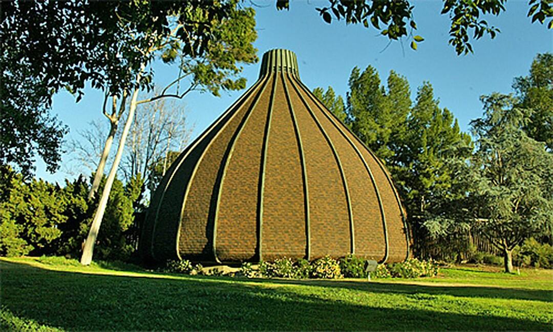 """The Onion,"" the sanctuary of the Sepulveda Unitarian Universalist Society Sanctuary"
