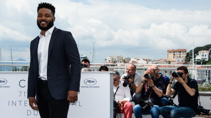 Ryan Coogler Photocall - 71st Cannes Film Festival, France - 10 May 2018