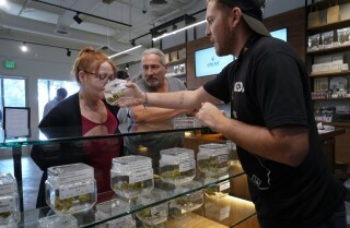 On day two of legal recreational marijuana, sales remain steady