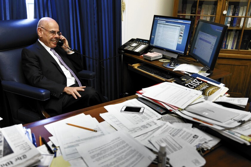Rep  Henry Waxman to retire after four decades in Congress