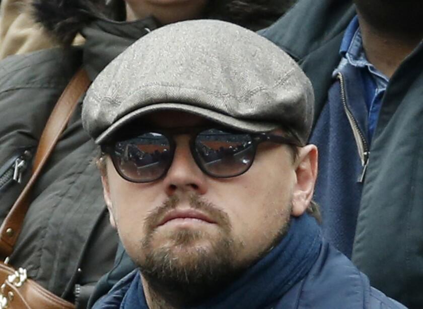 El actor estadounidense Leonardo DiCaprio