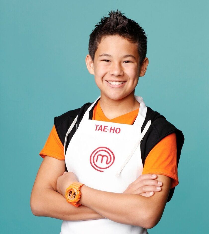 "Tae-Ho Ahn, 13, of Chula Vista debuts on Fox TV's ""MasterChef Junior"" series on Nov. 6."