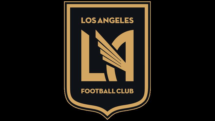 The LAFC logo.