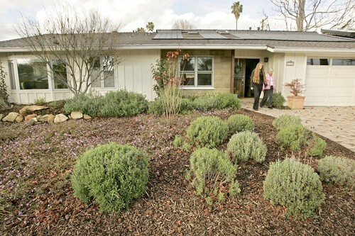 Harriet Burke and daughter Kathy Scheidemen turned their Goleta home into an eco-friendly space