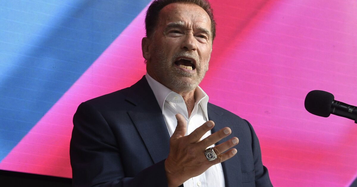 Schwarzenegger glad California recall failed, slams GOP field