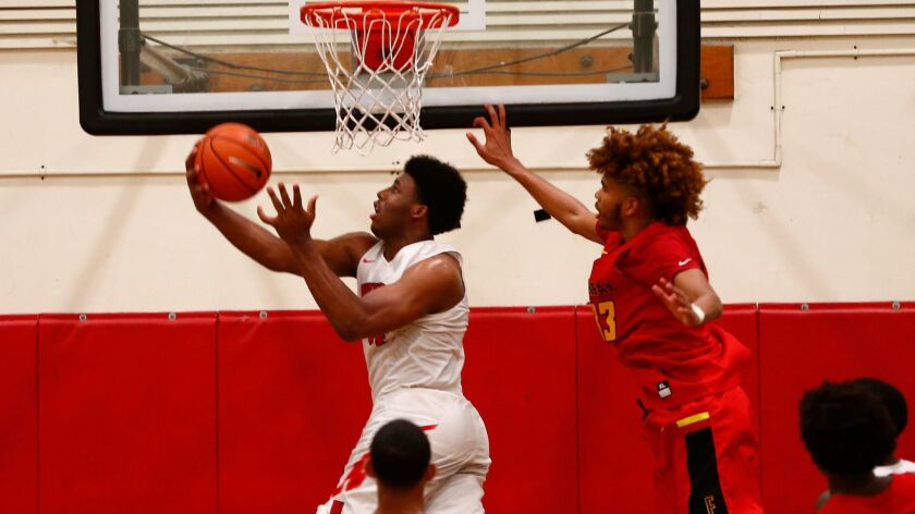 Westchester, with Kaelen Allen, left, is just one of the many highly regarded City Section boys' basketball teams this season.
