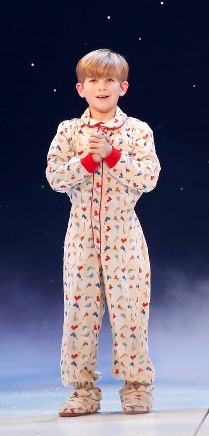"""Noah Baird as Randy Parker in """"A Christmas Story, The Musical,"""" which will play at New York's Madison Square Garden in December. CREDIT: Carol Rosegg"""