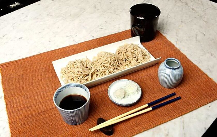 Morizuyu (dipping sauce for cold soba noodles)