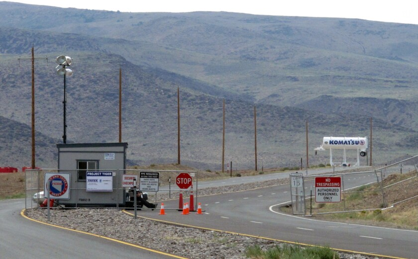 Tesla has selected this site in Nevada for a massive, $5-billion factory to pump out batteries for a new generation of electric cars.