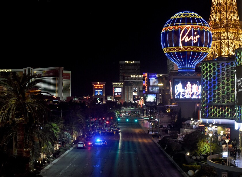 Dozens injured as car plows into pedestrians on Las Vegas Strip