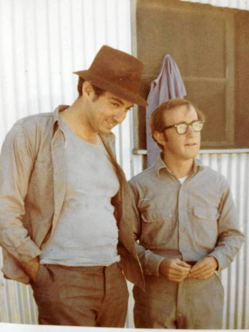 Mickey Rose with Woody Allen