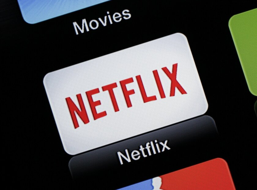 FILE - This June 24, 2015, file photo, shows the Netflix Apple TV app icon, in South Orange, N.J. Netflix reports financial results on Monday, July 18, 2016. (AP Photo/Dan Goodman, File)