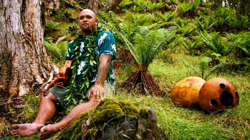 As part of the Irvine Barclay Theatre's Hawaiian music series, Kuana Kahele will be performing on Ja