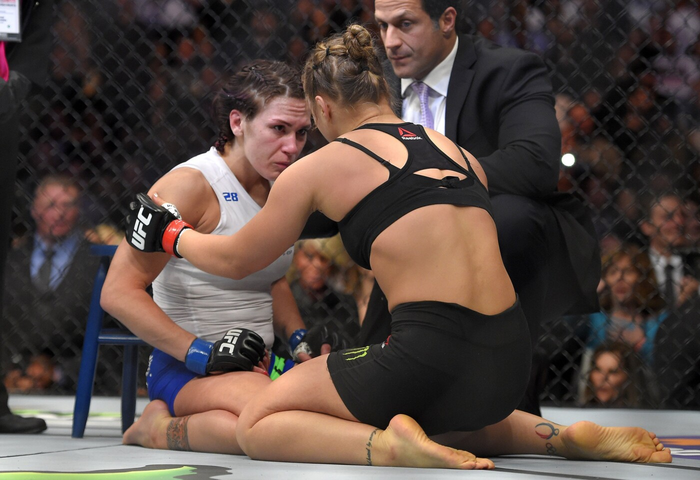 Ronda Rousey, Cat Zingano