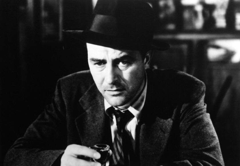 """Ray Milland in """"The Lost Weekend."""""""