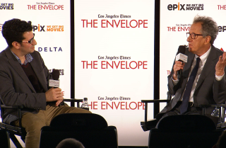 'The Book Thief' panel with moderator Steven Zeitchik