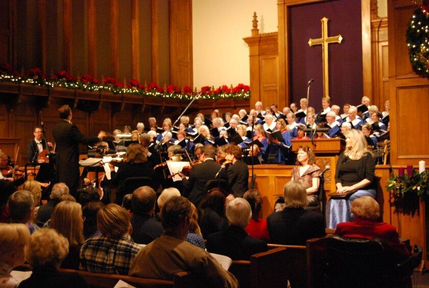 Hear the Hallelujah Chorus at la Jolla Presbyterian Church Dec. 14.
