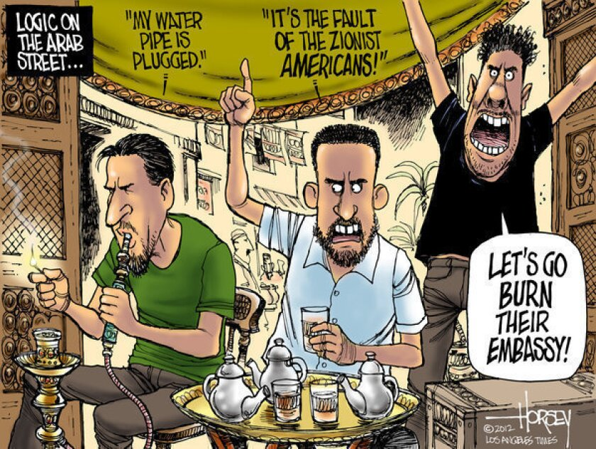 Neither Romney nor Obama can cure the irrationality on the Arab street