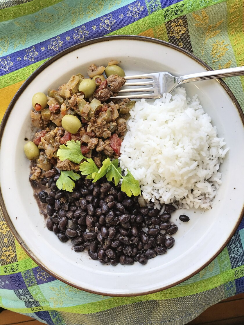 Cuban Picadillo from the $5 Foodie website.