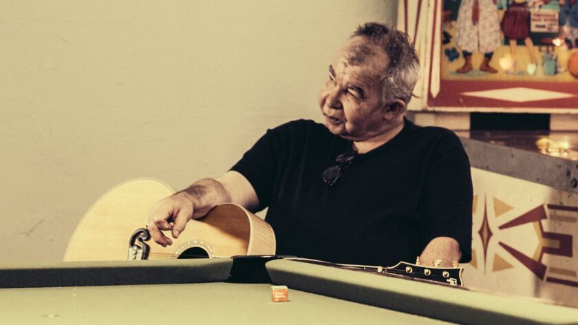 Singer-songwriter John Prine is nominated for three Grammy Awards and is the honoree at the Americana Music Assn.'s Feb. 9 gathering at the Troubadour in West Hollywood.