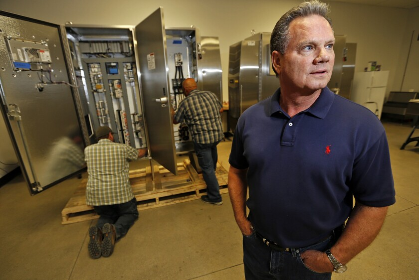Don Nelson, president of ProGauge Technologies Inc. in Bakersfield, says his firm could lose a bid on a $30-million project in the Middle East this summer without the Export-Import Bank.