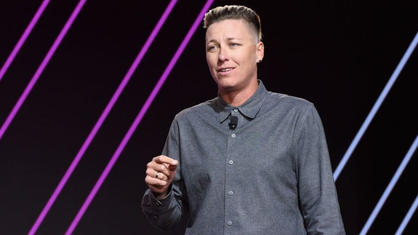 Balancing Act: 'My story is my story, but it's also every woman's story': Abby Wambach on 'Wolfpack,' her book inspired by that graduation speech