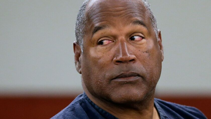 O.J. Simpson appears in court in 2013.