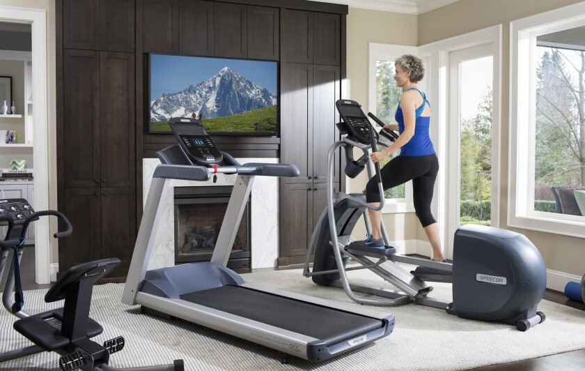Extend your cardio workout with your favorite TV shows and DVDs.