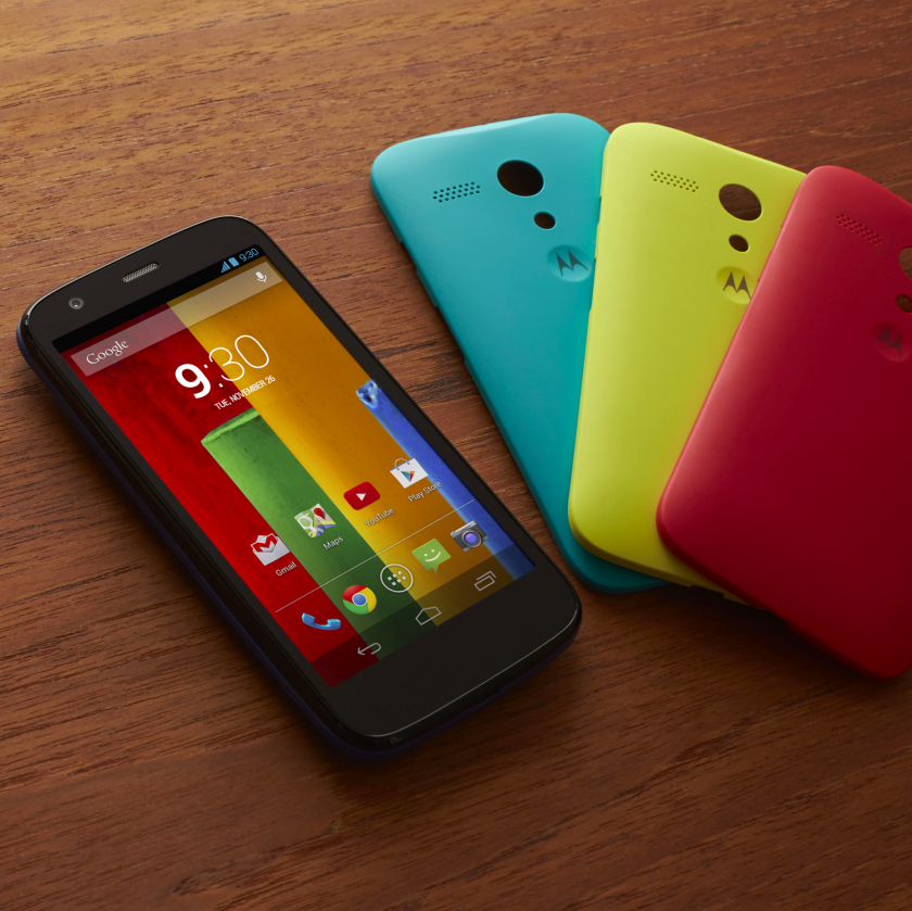 Best Buy is selling the Motorola Moto G for use on Verizon with no contract for $99.99.