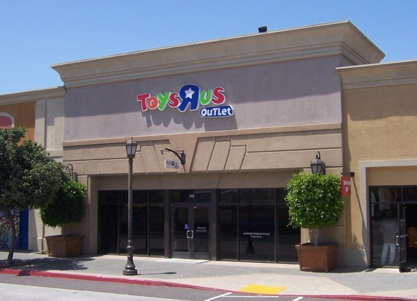 """Toys """"R"""" Us is opening an outlet store at Las Americas Premium Outlets this Friday, June 14."""