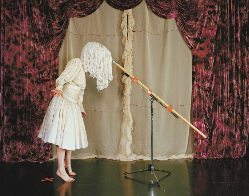 """Tammy Rae Carland: """"I'm Dying Up Here (Mop Head),"""" 2011. Photo: Courtesy of the artist and Jessica Silverman Gallery, San Francisco"""