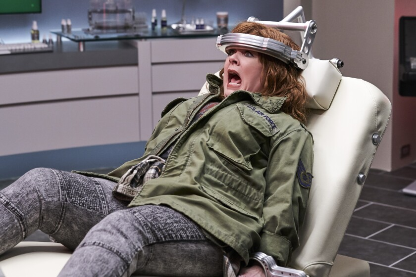 """Melissa McCarthy unexpectedly gains superpowers in """"Thunder Force."""""""