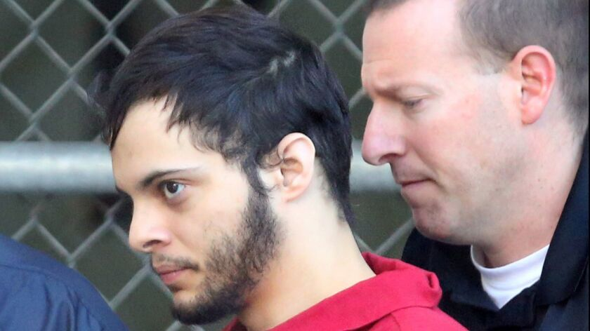 Esteban Santiago researched layout of Los Angeles airport days before Fort Lauderdale shooting, feds say