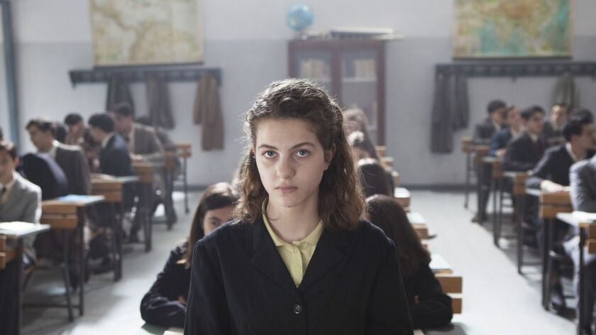 "Margherita Mazzucco in the HBO series ""My Brilliant Friend,"" based on Elena Ferrante's bestseller."