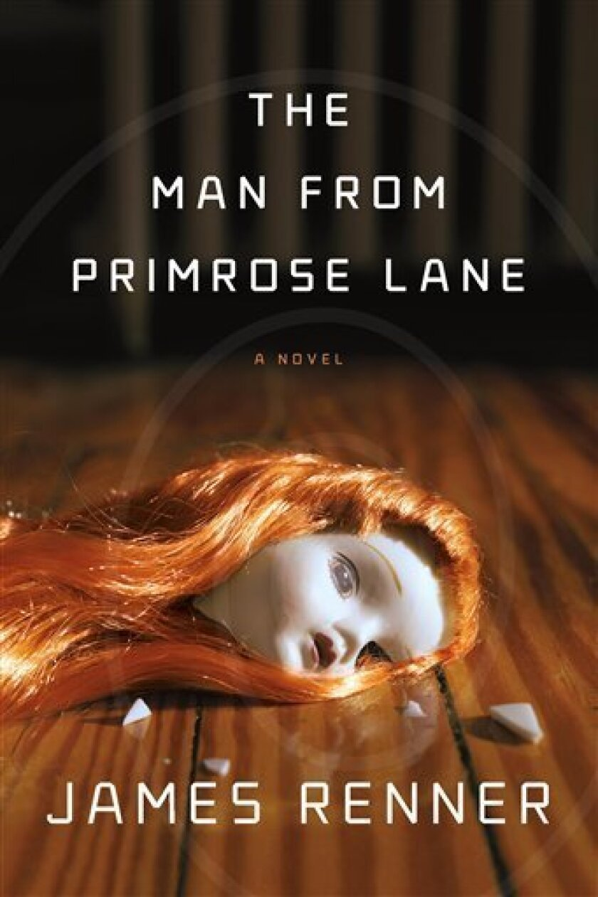 "In this book cover image released by Sarah Crichton Books / FSG, ""The Man from Primrose Lane,"" by James Renner, is shown. (AP Photo/Sarah Crichton Books / FSG)"