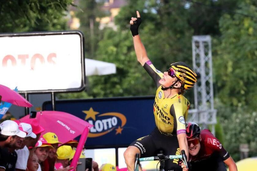 Jonas Vingegaard gana la etapa reina y se coloca líder de la Vuelta a Polonia