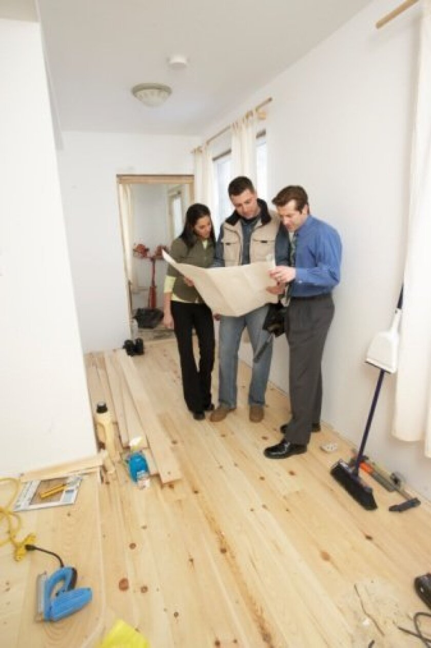 Seize the opportunity to spruce up a home for sale -- or customize your new space.
